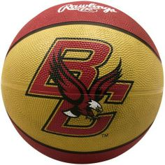 NCAA Boston College Eagles Crossover Full Size Basketball by Rawlings by Rawlings. $19.65. High quality vulcanized rubber. Full Size Basketball. Alternating team color panels. Features school colors, team logo and name. Rawlings Boston College Eagles Crossover Full Size BasketballScreen print graphicsOfficially licensed collegiate productInflate to 7-9 lbs.ImportedRegulation size and weightScreen print graphicsRegulation size and weightInflate to 7-9 lbs.ImportedOf...