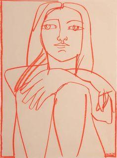 america martin   woman in orange