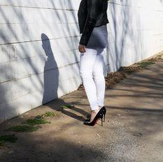 hudson stark moto jeans | allyson in wonderland