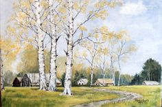 """""""Jesień""""  obraz na płótnie  70x50 cm"""