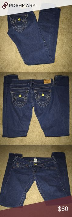 True Religion Skinny Jeans Size 29 True Religion Skinny Jeans Size 29 inseam approx 33 inches True Religion Jeans Skinny