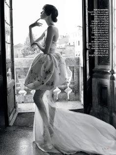 """Pactar con el Diablo por...: Vuelve la Alta Costura con """"Cinderella Story"""" en el September Issue de Vogue US"""