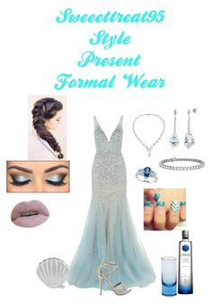 """""""Formal Wear"""" by sweeettreat95 on Polyvore featuring Jovani, Michael Antonio, Skinnydip, Icz Stonez, BERRICLE, Allurez, Blue Nile and Moser"""