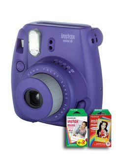 La cámara instantánea compacta que trae diversión instantánea cada día de tu vida.