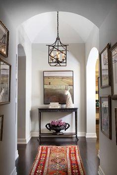 Beautiful Entry Hallway -  Betsey Burhnam