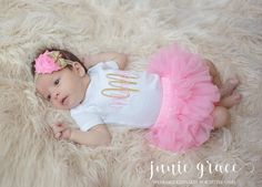 Newborn Girl Coming Home Outfit Baby Girl Clothes by juniegrace