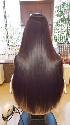 Enjoy the beauty of shiny and silky and smooth beautiful hair. Long Hair Cut Short, Long Silky Hair, Silky Smooth Hair, Super Long Hair, Beautiful Long Hair, Gorgeous Hair, Pretty Hairstyles, Straight Hairstyles, Hair Toppers