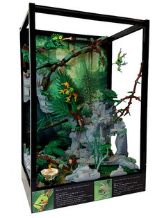 Lego Terrarium by Siercon and Coral on Flickr
