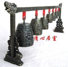 Ancient Chinese musical instrument crafts / music chimes crafts ornaments