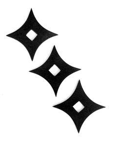 Martial Arts Rubber Foam Throwing Stars Practice Shuriken Agreeable To Taste Ninja Collectibles