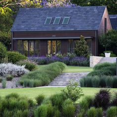 """""""The colours within a planting palette can make or break a garden. Here, in this award winning garden, there is nothing but subtlety and pure elegance.…"""""""