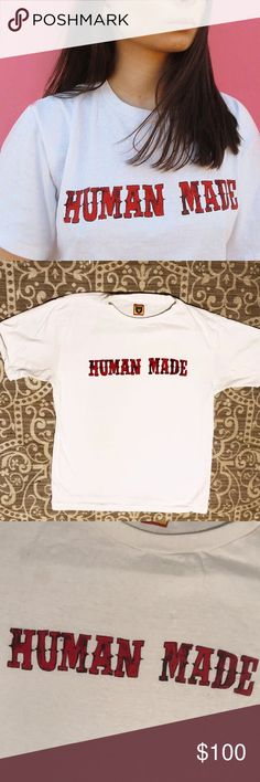 b233be839bb9 Human Made Tee Human Made Logo Tee. Great condition. Worn a few times.  NigoBapeMan ...