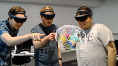 The Cleveland Clinic has partnered with Case Western Reserve University to release a Microsoft HoloLens app that allows users to explore the human body usi