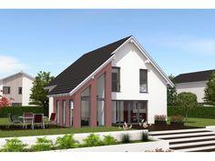 Noblesse 120 - #Einfamilienhaus von Bau Braune Inh. Sven Lehner | HausXXL #Massivhaus #Energiesparhaus #Nullenergiehaus #modern #Satteldach