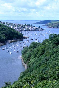 Fowey, Cornwall Fowey Cornwall, Devon And Cornwall, England And Scotland, England Uk, Places To Travel, Places To See, Cornwall Beaches, Beautiful Places, Beautiful Islands