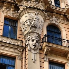 There is no doubt that Riga is the capital of Art Nouveau!   Did you know that around 40% of buildings in Riga are built in Art Nouveau style?   It is more than in other Europe cities!    Photo by Alberto de la Cruz http://www.riga.com/live