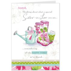 Lucy cromwell daughter shoes design birthday card hallmark uk lucy cromwell wellingtons birthday card hallmark uk bookmarktalkfo Image collections