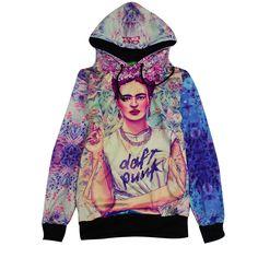 2017 New Frida Kahlo hip hop boy o-neck sweatshirts women/mens pullover male man hoodie shirts hoodies boys autumn wear clothing #Affiliate