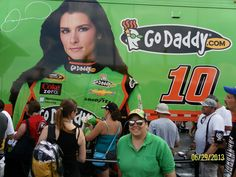 Cheering for my Driver: Kentucky Speedway 2013