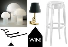 Enter to win an item featured in the ELLE DECOR Modern Life Concept House from Lumens Light + Living from @Design Milk