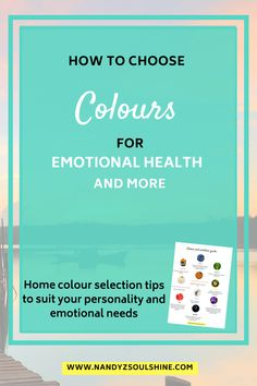 Interior colour scheme seleection ideas for your home to enhance emotional health, suit your personality & to get the benefits of colour psychology. Psychological Effects Of Color, Home Colour Selection, Stress Management Activities, Colors And Emotions, Chronic Stress, Dealing With Stress, Color Psychology, Healthy Lifestyle Tips, Coping Skills