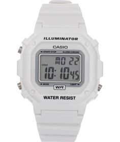 f655c9055b11 Buy Casio White Unisex LCD Watch at Argos.co.uk - Your Online Shop for  Unisex watches.