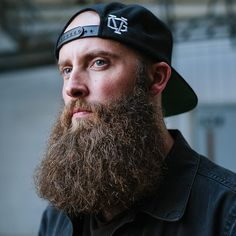 Australian tattoo artist Sam Bowman has some serious ink skills, and that beard is no joke either. Photographed by Jessica Kaminski (@jessicakaminski) for RefineryMKE (@refinerymke) #beards #beardlife #MKEbeard
