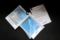 Montessori - Science - Cloud Nomenclature Clouds (make into 3 part cards) Montessori Science, Primary Science, Teaching Science, Science For Kids, Earth Science, Science Ideas, Weather Experiments, Weather Activities, Science Experiments