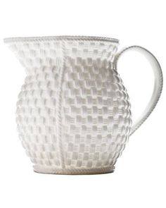 Weave pitcher, by Tiffany & Co.