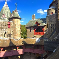 Castle Coch Though the foundations date back several centuries, the castle you see today is also the work of the Third Marquess of Bute and his architect William Burgess. Welsh Castles, Castles In Wales, Days Of The Year, Fairytale, Medieval, Cardiff Wales, Marquess, England, Colour