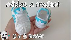 adidas tejidos a crochet bebe 0 a 3 meses, related videos and comments