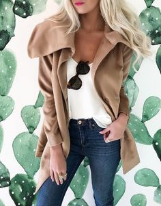 A soft wrap coat provides the comfort of a cardigan with the warmth of a coat - perfect for chilly winter days on the icy city streets.