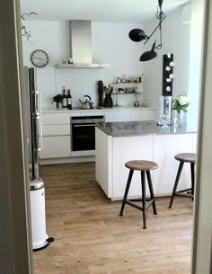 Offene wohnkuche im skandinavischen stil von mona24 for Küche industrielook