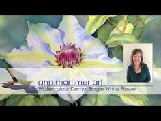 Watch part 1 of Ann's latest watercolour demonstration. This video covers masking, colour mixing and the first wash. Colours used (Winsor and Newton): Aureol...