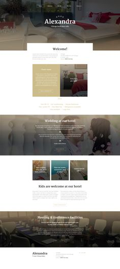 Hotel Website Template  #html