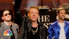 """Macklemore & Ryan Lewis """"White Walls"""" - The Tonight Show with Jay Leno"""