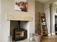 Eco design woodburner with sandstone lintel #ecodesign #woodburner #woodburning #interiordesignideas #ignite Modern Stoves, Wood Burner, Woodburning, Home Renovation, Home Appliances, Design, Home Decor, House Appliances, Decoration Home