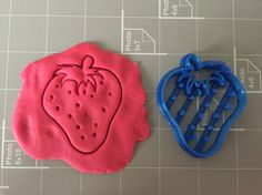 Strawberry Cookie Cuter - Fruit Cookie Cutter