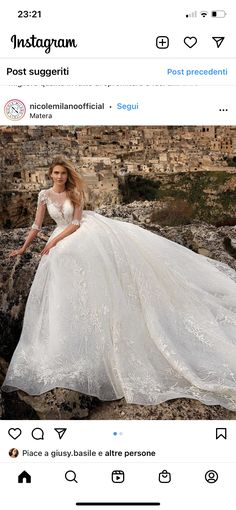 Lace Wedding, Wedding Dresses, Instagram, Fashion, Bridle Dress, Gowns, Bride Dresses, Moda, Bridal Gowns