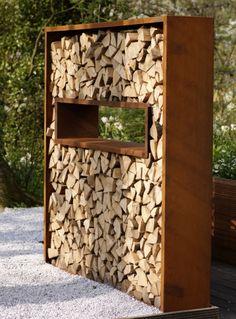 panneau bois extérieur jardin | déco jardin bois exterieur