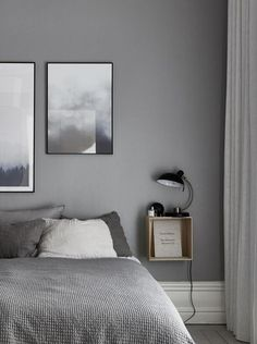 5 Simple Ways to Organize a Minimalist Bedroom Bedroom Decor Small Bedroom Interior, White Bedroom, Room Decor Bedroom, Bedroom Ideas, Grey Bedroom Walls, Light Gray Bedroom, Master Bedroom, Bedroom Brown, Comfy Bedroom