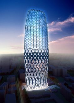 Dorobanti Tower - Proposed new building design in Bucharest, Romania