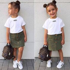 29 Ideas baby girl outfits adidas for 2019 Lila Outfits, Cute Little Girls Outfits, Kids Outfits Girls, Toddler Girl Outfits, Baby Outfits, Cute Kids Fashion, Little Girl Fashion, Toddler Fashion, Baby Kind