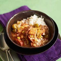 Healthy Slow Cooker Recipes] Cajun Chicken And Andouille Soup: When ...