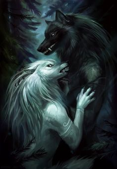 The Wolf Who Sat in a Tree by Kipine on DeviantArt Fantasy Wolf, Dark Fantasy Art, Anime Wolf, Alpha Wolf, Wolf Artwork, Werewolf Art, Wolf Spirit Animal, Mythical Creatures Art, Wolf Craft