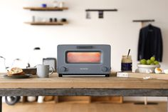 Everyone's excited about the Balmuda toaster, which uses steam to make better toast. Buy a steam oven instead.