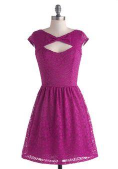 Be Bright Back Dress in Fuchsia, @ModCloth, $55
