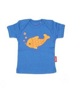 Blauw Bubble t-shirtje voor baby'tjes - Tapete - Kinderkleding online - Pepatino.be - Webwinkel voor kleine kleertjes - Aalst