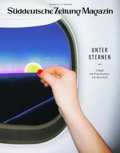 coverjunkie:  Newest cover Suddeutsche Zeitung Magazin  Photographed by Markus Burke  Art-director Thomas Kartsolis Design David Henne, Birthe Steinbeck, Daniel Schnitterbaum and Anna Meyer