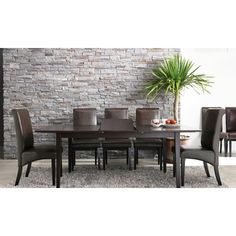 TRIBECCA HOME Dartford Espresso Dining Table - Overstock™ Shopping - Great Deals on Tribecca Home Dining Tables